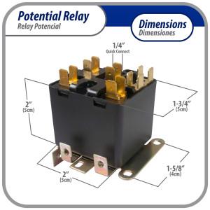 Appli Parts Heavy Duty 3 Poles Contactor 40 Amp 240 Volts Coil UL 476929 Apac-340240