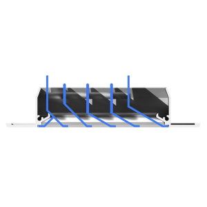 Appli Parts Single Manifold Valve for Refrigeration and Air Conditioning 1/4 in. Connections Apmg-1b