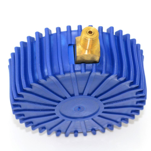 Appli Parts motor start capacitor 216-259 Mfd (microfarads) uF 250VAC universal fit for electric motor applications 1-3/4 in Wide 3-3/8 in Height CON-216-250