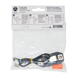 Appli Parts Glass Defrost Heater Replacement for Wr49x391 2 pieces 9- 9/16 in 110v Apdh-9g391