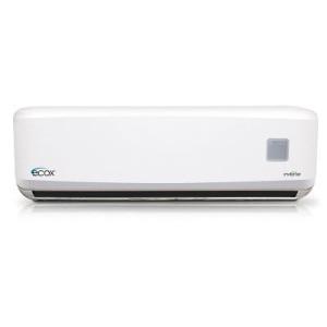 Mini Split 18.000btu R410 230v/1ph/60hz Ecox Inverter Seer 27 Frio/Calor Gold Fin Condenser