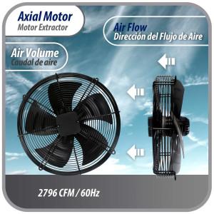 Air Handler 96.000btu R410 380v/50hz/3ph Ecox Inverter Seer 13eseinv96h13e
