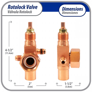 """Onezone Wireless Thermostat Battery Powered Duct Zone Damper 8"""" Onezone08tw"""